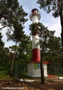 Latarnia morska w Jastarni - źródło: www.jastarnia.info.pl