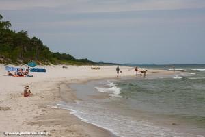Plaża w Jastarni - źródło: www.jastarnia.info.pl