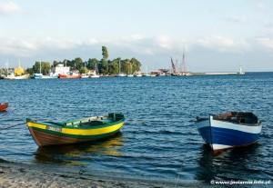 Port w Jastarni - źródło: www.jastarnia.info.pl
