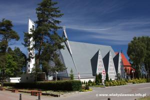 Kościół pw. Wniebowzięcia Najświętszej Marii Panny we Władysławowie - źródło: www.wladyslawowo.info.pl