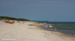 Plaża w Kuźnicy - źródło: www.kuznica.info.pl
