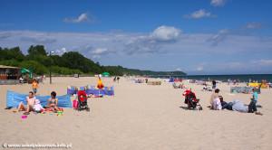 Plaża we Władysławowie - źródło: www.wladyslawowo.info.pl